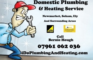 Domestic Plumbing & Heating Service for Newmarket, Soham, Ely and Surrounding Areas